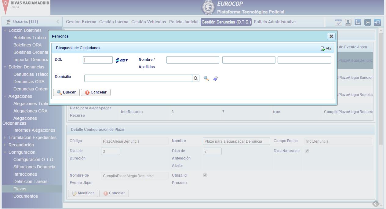 Eurocop Software De Gesti N Policial Gesti N De Multas